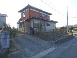 千葉県南房総市山下の不動産,旧三芳村中古住宅,リフォーム済,田舎暮らし移住,北側はこんな感じです
