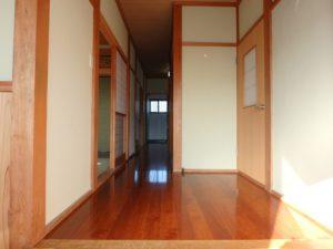 千葉県南房総市山下の不動産,旧三芳村中古住宅,リフォーム済,田舎暮らし移住,廊下板は張り替えてます