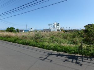 千葉県南房総市千倉町の不動産,海が見える土地,別荘用地,広い土地,太平洋を遠望する318坪
