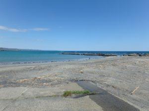 千葉県南房総市千倉町の不動産,海が見える土地,別荘用地,広い土地,きれいな里の海ですね