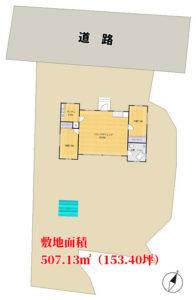 海前売別荘 南房総市千倉町白間津 2LDK+キャットウォーク 4780万円 物件概略図