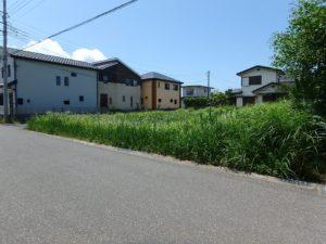 千葉県館山市那古の不動産、土地情報、海近く、分譲地、別荘や移住用地、二方道路で使いやすい