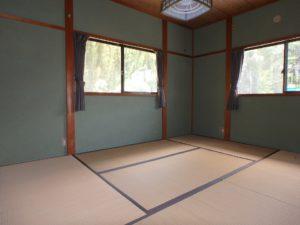 千葉県南房総市千倉町川戸の不動産、中古戸建、別荘、作業場付き、まずは奥の和室から