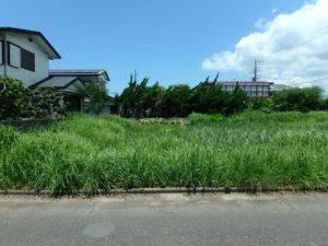 千葉県館山市那古の不動産、土地情報、海近く、分譲地、別荘や移住用地、閑静な住環境の整形地です