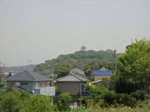 千葉県館山市沼の不動産、中古戸建、別荘、広い敷地、キャンプ用地、海一望、オーシャンビュー、館山城も見えた