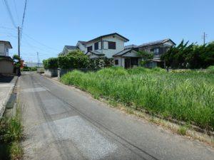 千葉県館山市那古の不動産、土地情報、海近く、分譲地、別荘や移住用地、南側道路となります