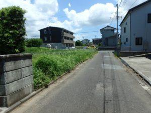 千葉県館山市那古の不動産、土地情報、海近く、分譲地、別荘や移住用地、道路幅員は約4m