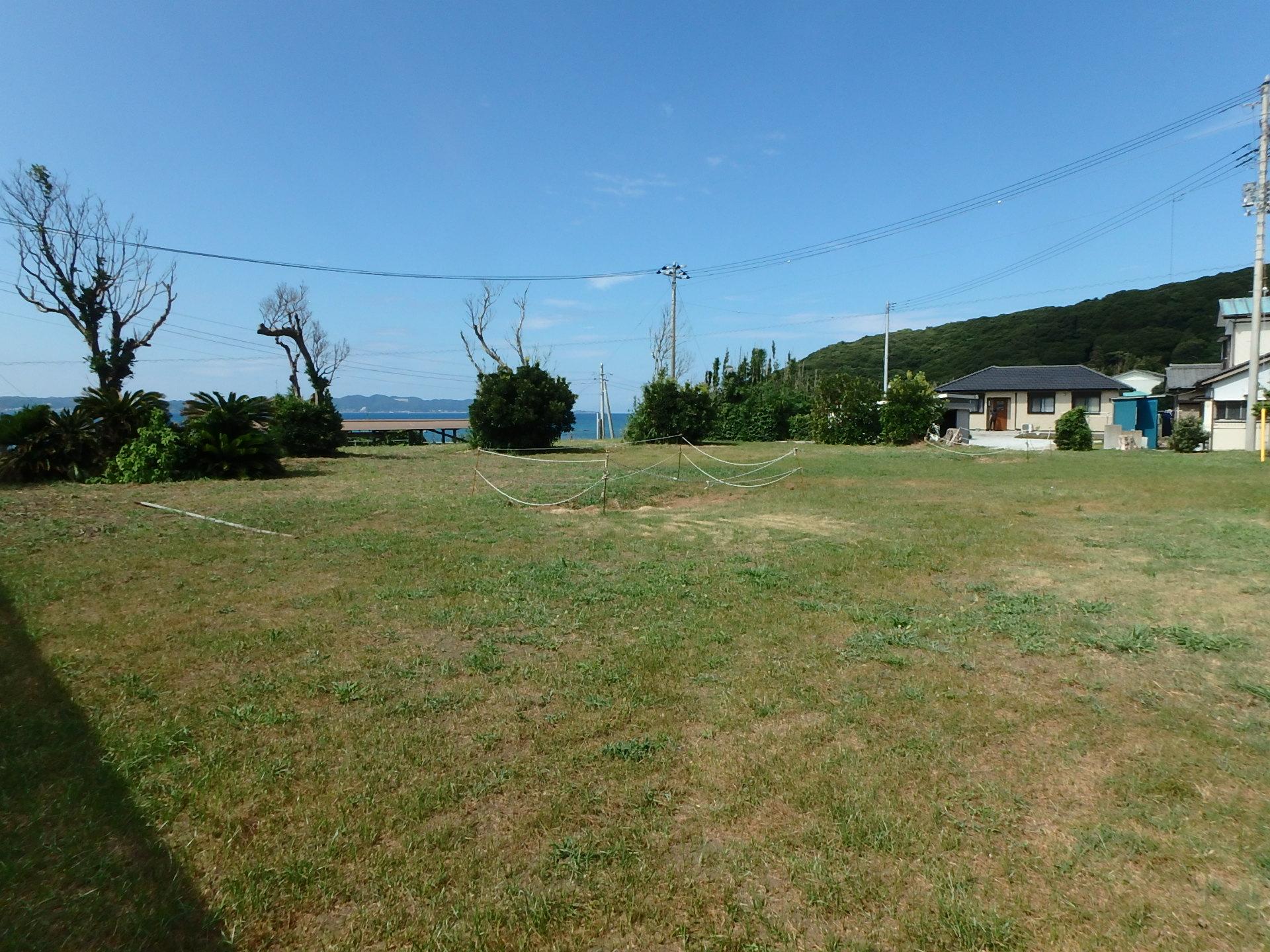 千葉県南房総市富浦町多田良の不動産、海が見える土地、海沿い、海一望、ご商談中