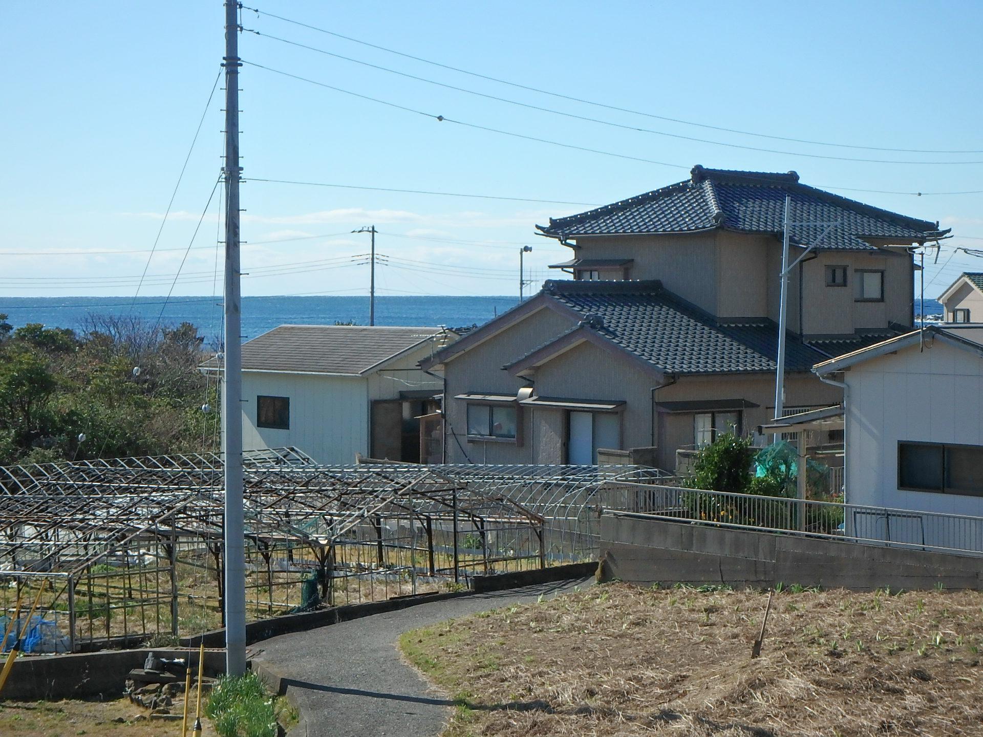 千葉県鴨川市江見太夫崎の不動産、海が見える中古住宅値下げ