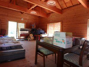 千葉県館山市正木の不動産、山林、小屋付き、ドッグラン、動物飼育、個人キャンプ場、約20帖のワンルーム