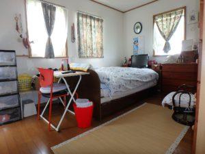 千葉県館山市薗の不動産、中古戸建、売家、九重地区、田舎暮らし、移住、続いて南側の7帖洋室