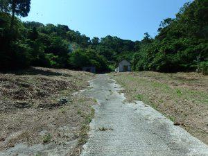 千葉県館山市正木の不動産、山林、小屋付き、ドッグラン、動物飼育、個人キャンプ場、奥の樹木までが敷地