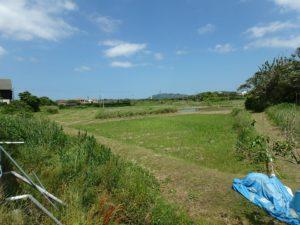 千葉県館山市佐野の不動産、海の近くの別荘地、平砂浦海岸、富士山望む、ほっこりする景色ですよ