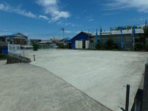 千葉県南房総市富浦町多田良の不動産、土地、海水浴場近く、海が見える、西側敷地は駐車場利用