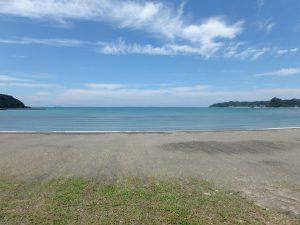 千葉県南房総市富浦町多田良の不動産、土地、海水浴場近く、海が見える、この立地お勧めです
