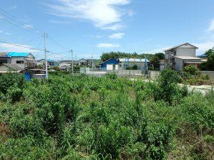千葉県南房総市富浦町多田良の不動産、土地、海水浴場近く、海が見える、海のベースとして最適地