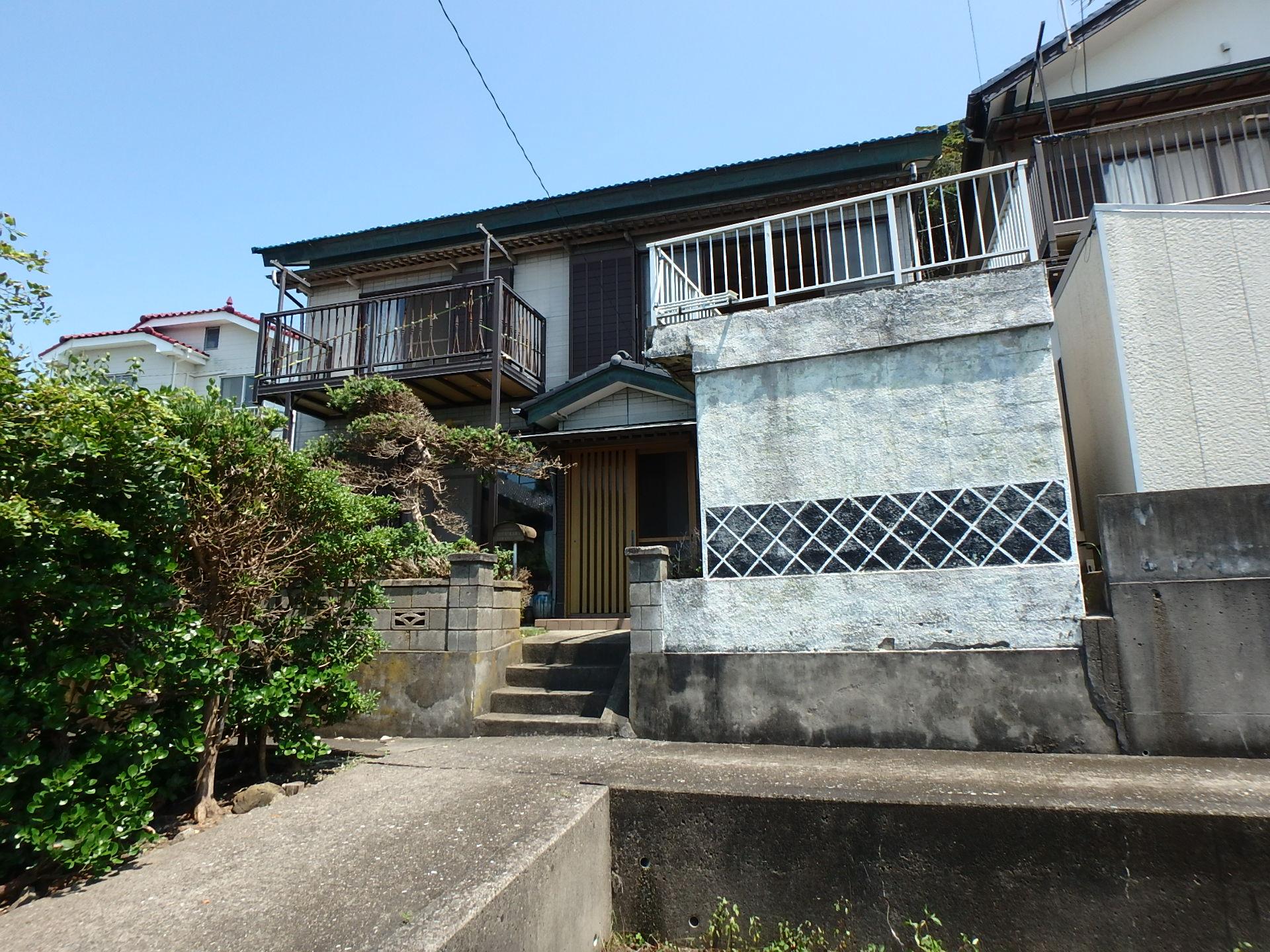 千葉県鴨川市浜荻の不動産、海が見える中古住宅、海一望、新着