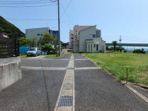 千葉県鴨川市東町の不動産、土地、海一望、マルキポイント前、インフラも整備されてます
