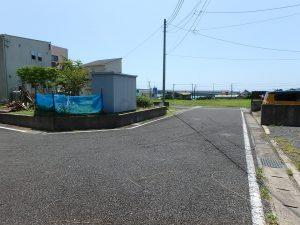 千葉県鴨川市東町の不動産、土地、海一望、マルキポイント前、閑静な分譲地ですね