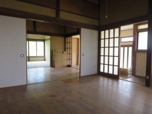 千葉県館山市宮城の不動産、古家付き土地、田舎暮らし、二地域居住、DIY物件、北側に移動です