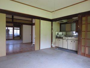千葉県館山市宮城の不動産、古家付き土地、田舎暮らし、二地域居住、DIY物件、北側奥の部屋はDK