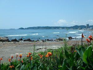 千葉県鴨川市東町の不動産、土地、海一望、マルキポイント前、サーファーには希少立地