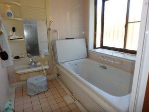 千葉県館山市稲の不動産、中古住宅、平家、移住、田舎暮らし、別荘、浴室です