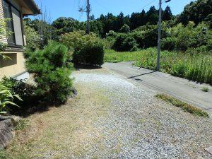 千葉県館山市稲の不動産、中古住宅、平家、移住、田舎暮らし、別荘、続いて室外に出てみます