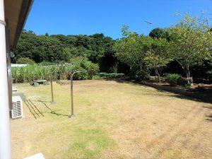 千葉県館山市稲の不動産、中古住宅、平家、移住、田舎暮らし、別荘、庭を楽しみたい方は十分