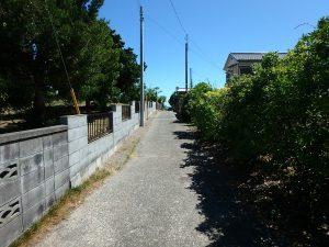 千葉県南房総市千倉町北朝夷の不動産、中古戸建て、別荘、海の近く、南千倉海水浴場、サーフィン、駐車場の先が海です