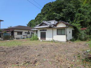 千葉県館山市宮城の不動産、古家付き土地、田舎暮らし、二地域居住、DIY物件、緑豊かな環境です