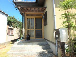 千葉県館山市稲の不動産、中古住宅、平家、移住、田舎暮らし、別荘、落ち着きのある玄関口