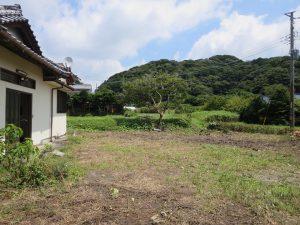千葉県館山市宮城の不動産、古家付き土地、田舎暮らし、二地域居住、DIY物件、趣味の拠点にも良い