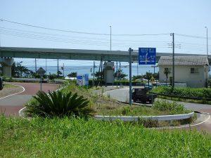 千葉県鴨川市東町の不動産、土地、海一望、マルキポイント前、マルキポイント一望