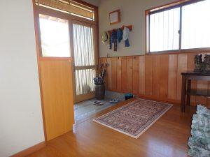 千葉県館山市稲の不動産、中古住宅、平家、移住、田舎暮らし、別荘、無垢の腰板も良いですね