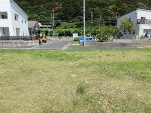 千葉県鴨川市東町の不動産、土地、海一望、マルキポイント前、海と山の自然があります