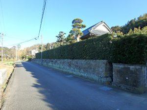 千葉県館山市小原の不動産、古民家、別荘用途、飲食関係、接道も問題ありません