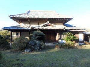 千葉県館山市小原の不動産、古民家、別荘用途、飲食関係、屋根が何とも美しい