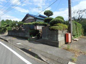 千葉県夷隅郡大多喜町堀切の不動産、田舎暮らし、移住、山並みの景色が優しい家
