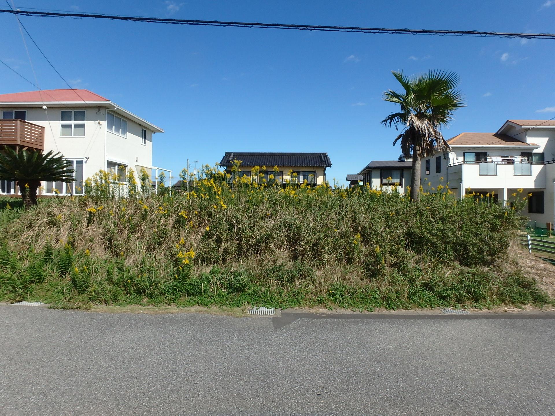 千葉県富津市千種新田の不動産、海が見える土地新着