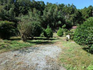 千葉県鴨川市川代の不動産、山林、別荘、キャンプ場用地、ここは既に開拓したゾーン