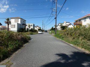千葉県富津市千種新田の不動産、土地、海が見える、ケープショアガーデン、海一望、逆方面も一枚
