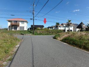千葉県富津市千種新田の不動産、土地、海が見える、ケープショアガーデン、海一望、正面から見た感じ