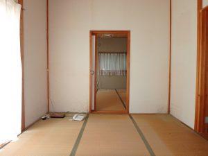 千葉県鴨川市川代の不動産、山林、別荘、キャンプ場用地、6帖和室の続間です