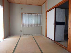 千葉県鴨川市川代の不動産、山林、別荘、キャンプ場用地、和室隣接してもう1部屋