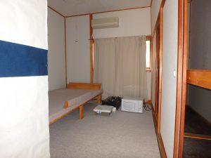 千葉県鴨川市川代の不動産、山林、別荘、キャンプ場用地、ここで寝たんですね