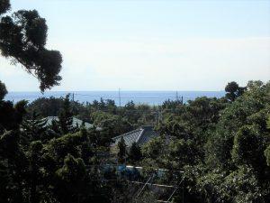 千葉県南房総市白浜町根本の不動産、海が見える土地、別荘用地、2階建でもっと海が見える