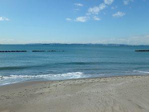 千葉県富津市千種新田の不動産、土地、海が見える、ケープショアガーデン、海一望、海隣接の別荘分譲地です