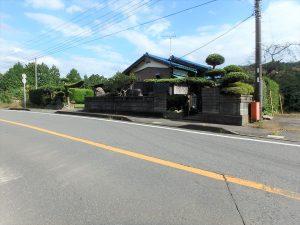 千葉県夷隅郡大多喜町堀切の不動産、田舎暮らし、移住、国道465線沿いです