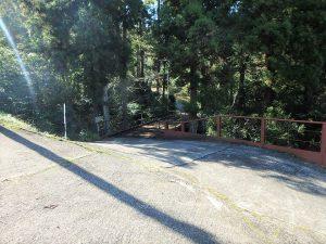 千葉県鴨川市川代の不動産、山林、別荘、キャンプ場用地、私道方面から見てみます